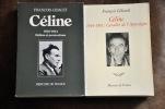 CÉLINE  Tome 2 : Délires et persécutions : 1932 - 1944 - 3 : Cavalier de l'Apocalypse 1944 - 1961. .  GIBAULT François