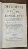 Mémoires du Marquis de Langallery, Lieutenant-Général des Armées de France et General-Feld-Marechal-Lieutenant au service de l'Empereur Charles VI. ...