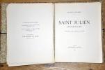 SAINT JULIEN L'HOSPITALIER.. FLAUBERT (GUSTAVE)