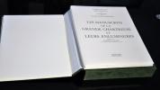 LES MANUSCRITS DE LA GRANDE CHARTREUSE ET LEURS ENLUMINURES. VAILLANT PIERRE ET LES MOINES DE LA GRANDE CHARTREUSE