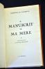 Le manuscrit de ma mère . . A. De Lamartine