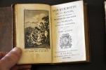 Don Quichotte de La Manche, traduit de l'espagnol de Michel de Cervantes par Florian ; ouvrage posthume. CERVANTES DE SAAVEDRA (Michel, Miguel de), ...