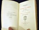 Discours sur les Passions de l'Amour de Pascal précédé d'une étude sur Pascal et Mlle de Roannez par M. de Lescure. PASCAL, Blaise ; LESCURE, M. de