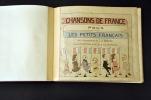 Chansons de France pour les petits Français.  .  [BOUTET DE MONVEL (Maurice). ] -   WECKERLIN (J.-B.).