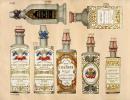 [CATALOGUE DE PARFUMS ET COSMETIQUES]. Parfumeries de Maugenet et Coudray. 22 rue Bourg L'Abbe..