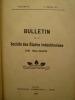 Bulletin de la Société des Etudes Indochinoises de Saïgon - Bulletin No 65 - 2e Semestre 1913. [BULLETIN de la SOCIETE des ETUDES INDOCHINOISES]
