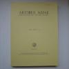 Artibus Asiae - MCMLXXXVI- Vol. XLVII, 3/4. [ARTIBUS ASIAE]