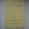 Artibus Asiae - MCMLXXXVIII- MCMLXXXIX, Vol. XLIX, 1/2. [ARTIBUS ASIAE]