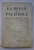 La Revue du Pacifique, 3e Année No.7, Juillet 1924. [LA REVUE DU PACIFIQUE]