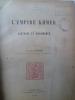 L'Empire Khmer - Histoire et Documents . MASPERO (Georges)