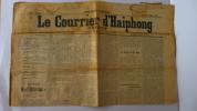Le Courrier d'Haiphong. [TONKIN] [HAIPHONG]