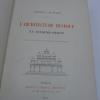 L'Architecture Hindoue en Extrême-Orient. BEYLIE (Général Louis de) - [EXTREME-ORIENt] [SIAM] [CAMBODGE] [LAOS] [BIRMANIE]