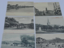 Old postcards on Singapore. [SINGAPORE] [OLD POSTCARDS]