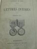 Expédition de Chine - 1860 - Lettres Intimes sur la Campagne de Chine en 1860. LUCY (Armand)  - [CAMPAGNE DE CHINE 1860]
