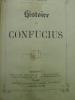 Histoire de Confucius. SENAMAUD (Jean)