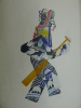 Chinese Shadow Puppets. [CHINESE ART] [CHINESE SHADOW PUPPETS]