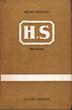 H.S., hors service. Deligny, Henri