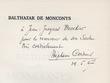 Balthazar de Monconys. Cordier, Stéphane