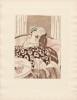 Eau-forte en couleurs pour Les Bijoux indiscrets, de Denis Diderot. Sauvage, Sylvain - [Diderot, Denis]