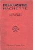 Bibliographie Hachette : littérature française. [Catalogue Hachette]