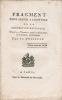 Fragment pour servir à l'histoire de la Convention nationale, depuis le 10 thermidor, jusqu'à la dénonciation de Lecointre, inclusivement.. Dussault, ...