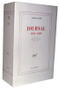 Journal, 1922-1989. Edition établie, présentée et annotée par Jean Jamin. . Leiris, Michel