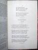 Album de vers et de prose. Mallarmé, Stéphane