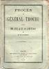 Procès du général Trochu contre MM. Vitu et de Villemessant du Figaro. [Trochu, Louis Jules (général)]