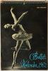 Ballett Kalender 1962. Niehaus, Max