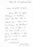 Lettre autographe signée à l'écrivain Christian Maurel (26 septembre 1981). Bonnefoy, Yves (né en 1923, poète et critique)