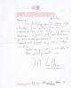Lettre autographe signée au peintre Bernard Kagane [27 février 1964]. Lo Duca, Joseph-Marie (1910-2004, écrivain, critique d'art et de cinéma)