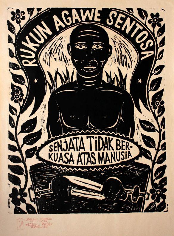 [Gravure] Rukun agawe sentosa, senjata tidak berkuasa atas manusia. Taring Padi