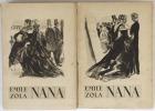 Nana. Illustrations de Berthommé Saint-André.. Zola, Emile - Berthommé Saint-André, Louis-André (ill.)