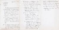 """Arbitrage André-Charles Coppier contre Firmin Didot à propos de """"Eaux-fortes authentiques de Rembrandt"""" publié en 1929. Pièces autographes et ..."""