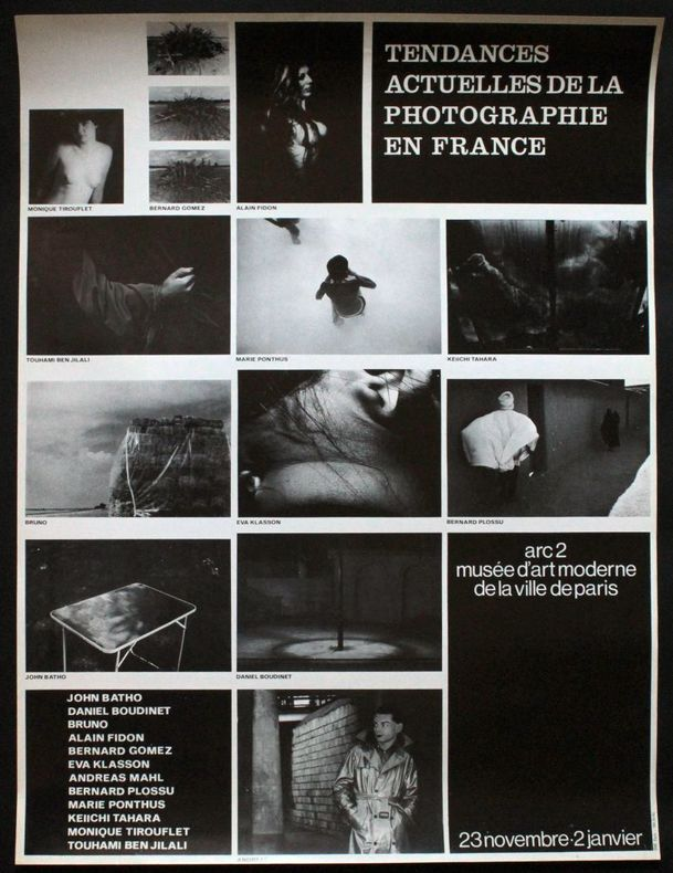 Tendances actuelles de la photographie en France : John Batho, Daniel Boudinet, Bruno, Alain Fidon, Bernard Gomez, Eva Klasson, Andreas Mahl, Bernard ...