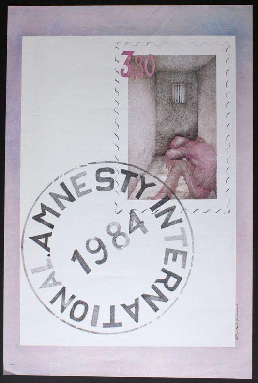 Amnesty international 1984. [Affiche]
