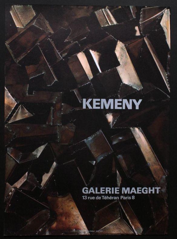 Kemeny : galerie Maeght, Paris. [Affiche] Kemeny, Zoltan