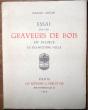 Essai sur les graveurs sur bois en France au dix-huitième siècle. Audin, Marius