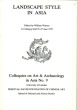 Landscape style in Asia. Colloquies on Art and Archeology in Asia No. 9. 25 - 27 June 1979.. Watson, William (ed.)