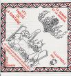 Mouchoir publicitaire illustré pour un cadeau Bonux : Les Fables de La Fontaine illustrées par Jean Effel. Effel, Jean (François Lejeune, dit)