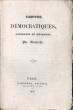 Contes démocratiques, dialogues et mélanges.. Altaroche, Marie-Michel-Agénor