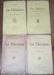 Au Théâtre, Réflexions Critiques (4 volumes). Blum, Léon