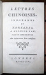 Lettres chinoises, indiennes et tartares. A Monsieur Paw, par un bénédictin. Avec plusieurs autres pieces intéressantes.. [Voltaire]