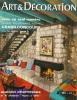 ART & DECORATION . No 155 . Janvier - fevrier 1971 ..  ART & DECORATION .