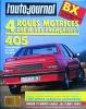 L' AUTO-JOURNAL n° 2 . 1° février 1989 . Citroen BX 4x4 ..  L' AUTO-JOURNAL .