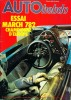AUTO HEBDO n° 126 . 10 aout 1978 . Essai March 782 ..  AUTO HEBDO n° 126 . 10 aout 1978 .