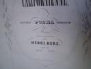 LA CALIFORNIENNE. Grande polka brillante.. HERZ Henri.