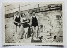 Ault Somme Manche Vintage Private Family Snapshot holidays vacances 1937.