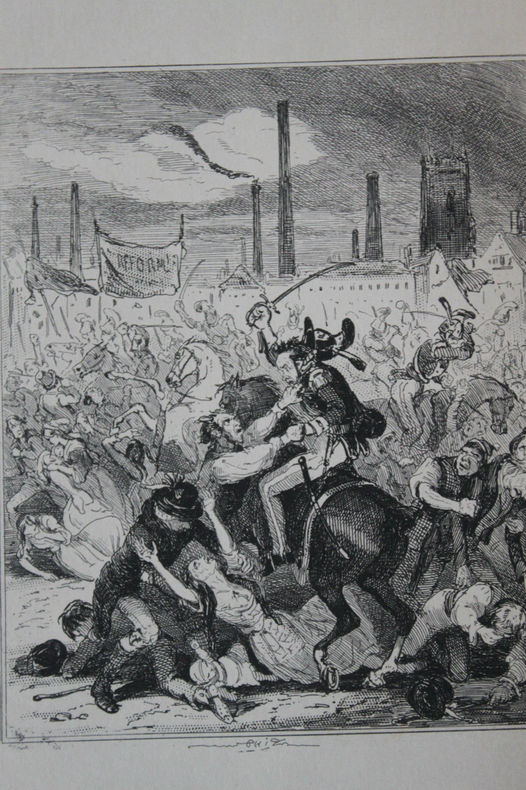 Antique Print by Phiz Chronicles of crime Tirage 1880
