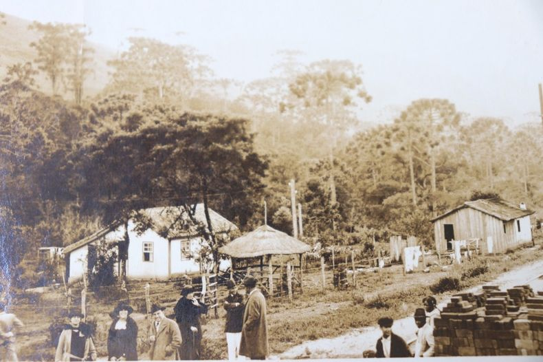 Photo ancienne 1922 Afrique Pagode.
